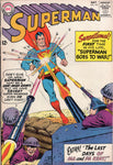Superman #161 Superman Goes To War! HTF Early Silver Age FN