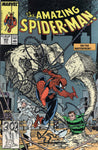 Amazing Spider-Man #303 On The Waterfront With Silver Sable And The Sandman McFarlane Art VF