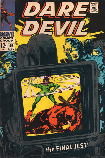 Daredevil #46 The Final Jest! Silver Age DD Classic with Colan Art FN