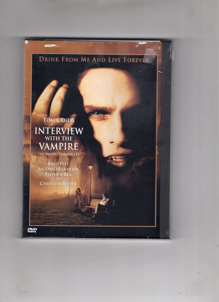 Interview With The Vampire DVD Tom Cruise Brad Pitt New Sealed
