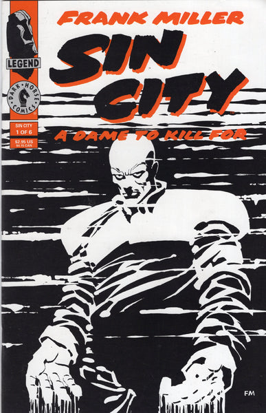 Sin City A Dame To Kill For #1 HTF Scond Print Mature Readers VF