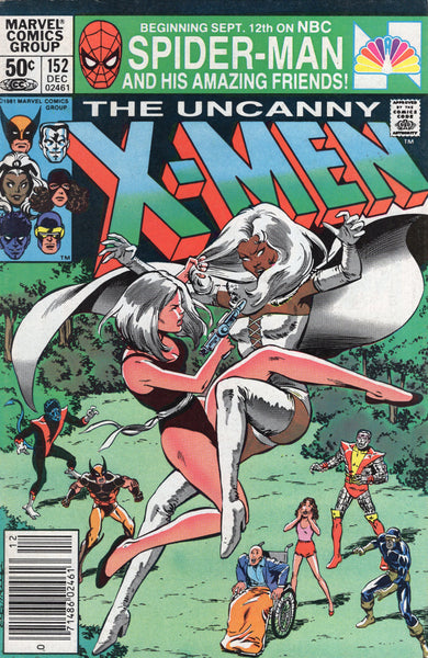 Uncanny X-Men #152 The Hellfire Gambit! News Stand Variant FVF