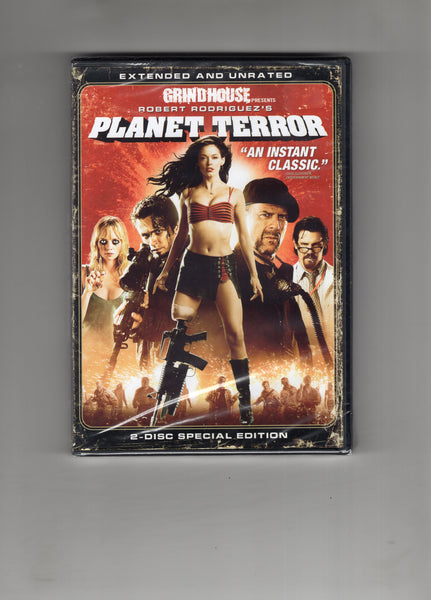 GrindHouse Presents Robert Rodriguez's Planet Terror DVD New Sealed & Definitely For Mature Viewers!