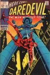 Daredevil #48 Farewell To Foggy And Stilt-Man Shows Up! Nice Silver Age Classic FN