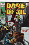 "Daredevil #47 ""Brother, Take My Hand"" My Favorite Early DD Story By Stan Lee & Gene Colan VF-"