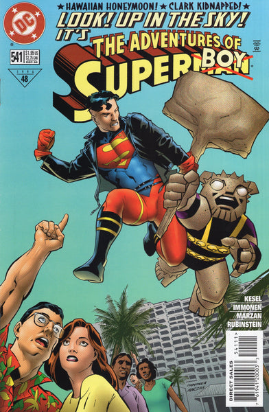 Adventures Of Superman #541 Look! Up In The Sky! FVF