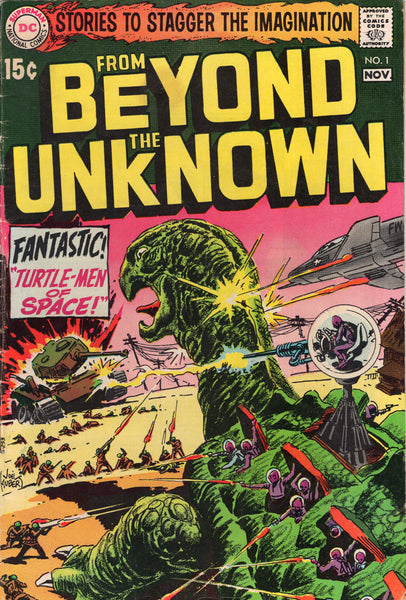 From Beyond The Unknown #1 HTF Silver Age Sci-Fi/Horror VG