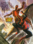 Actor Auction Guide Presented at Wizard World Chicago 2001 Signed and Numbered by Alex Ross #53 of 100