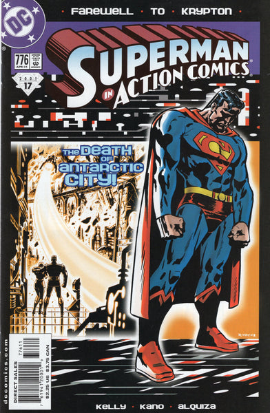 Action Comics # #776 The Death Of Antarctic City VFNM