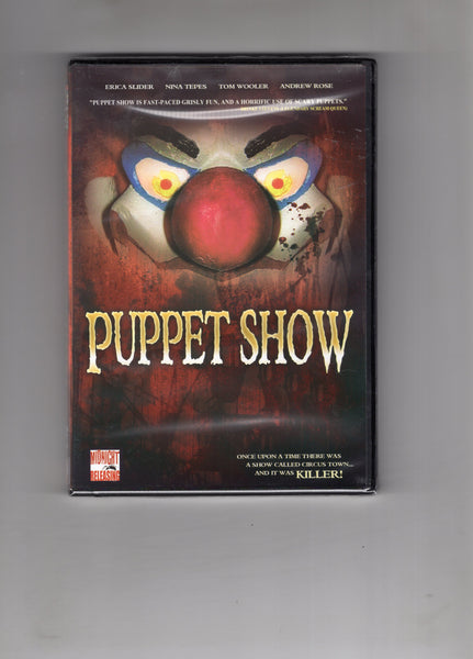 "Puppet Show DVD ""Once upon A Time..."" Sealed New Mature Viewers"