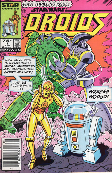 Star Wars Droids #1 Star Comics (Marvel) News Stand Variant HTF FVF