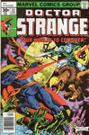 Doctor Strange #22 Four Worlds To Conquer! Brunner & Nebres Art Bronze Age Classic VGFN