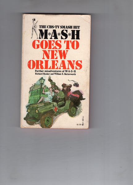 M.A.S.H. Goes To New Orleans! Paperback 1975 3rd Print VG