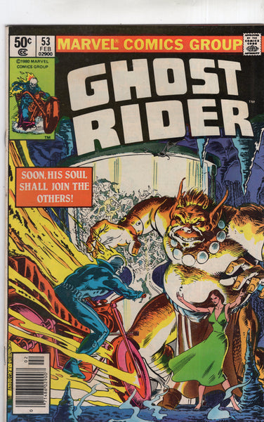 Ghost Rider #53 Battle For His Soul... New Stand Variant VGFN