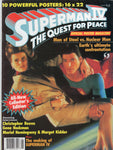 Superman IV The Quest For Peace Official Poster Magazine w/ Poster Inserts FN