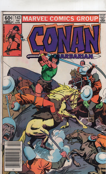 Conan The Barbarian #143 News Stand Variant FN