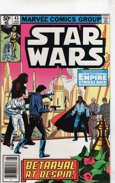 Star Wars #43 The Empire Strikes Back! News Stand Variant FVF