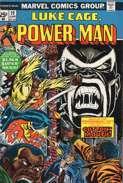 Power Man #19 First Cottonmouth! Bronze Age w/ MVS VGFN