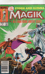 Magik #1 Storm And Illyana And Belasco! News Stand Variant FN