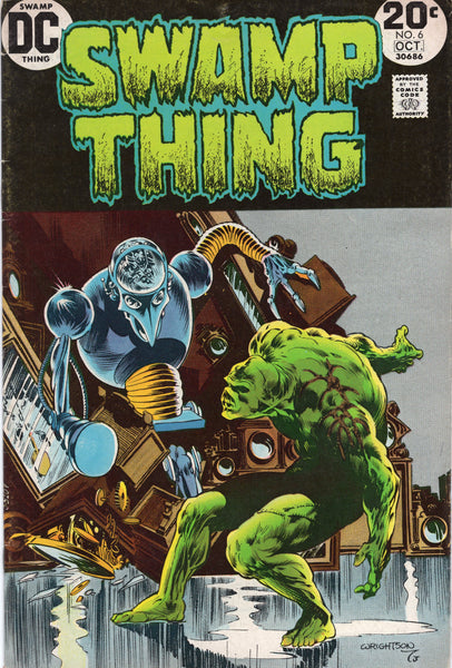 Swamp Thing #6 Bronze Age Horror Wrightson Art VG