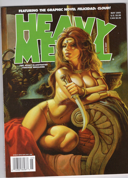 Heavy Metal May 2005 VF