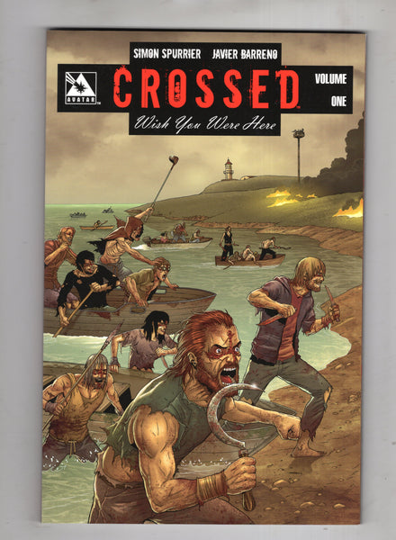 Crossed Wish You Were Here Trade Paperback #1 Mature Readers NM