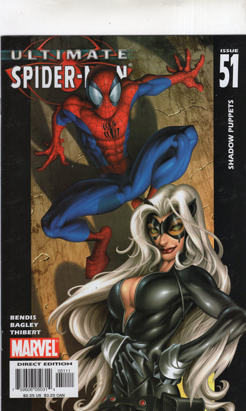 Ultimate Spider-Man #51 The Black Cat! VF
