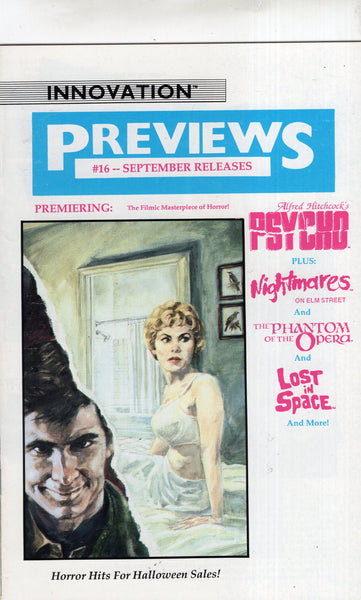 Innovation Previews #16 Horror Hits For Halloween! Psycho Nightmares On Elm Street Phantom... HTF Indy FVF