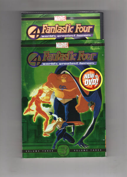 Fantastic Four Animated Series Vol. 3 DVD Set Sealed New