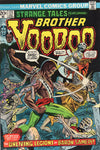 Strange Tales #171 Early Brother Voodoo vs The Unliving Legions Of Baron Samedi! Bronze Age Horror FN