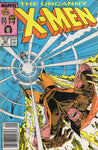Uncanny X-Men #221 First Mr. Sinister! News Stand Variant VG