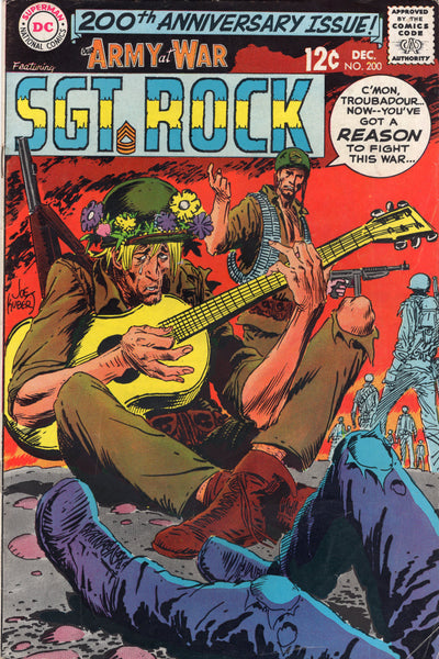 Our Army At War #200 Anniversary Issue Silver Age FN