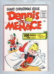 Dennis The Menace Giant Christmas Issue 1955 Square Bound Comedy Classic Nice FVF