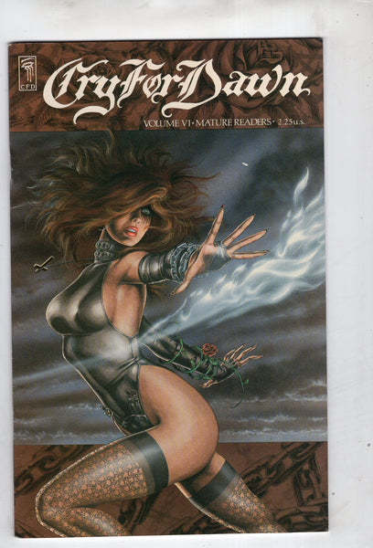 Cry For Dawn #6 Joe Linsner Beauty Mature Readers FVF