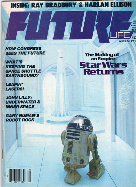 Future Life Magazine #20 The Making Of An Empire ... Star Wars! VGFN