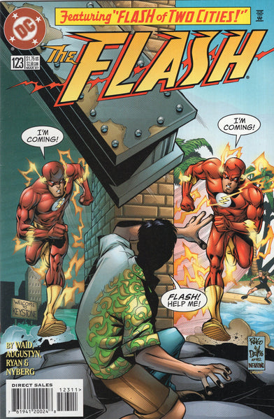 "Flash #123 ""Flash Of Two Cities!"" Homage Cover FVF"