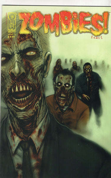 Zombies Feast #5 IDW Mature Readers NM
