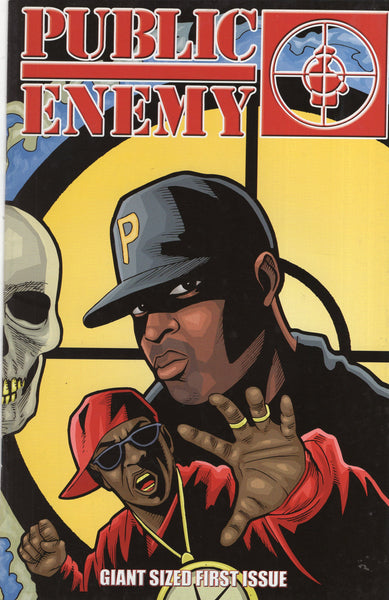 Public Enemy Giant Sized First Issue HTF American Mule Entertainment First Print Mature Readers VF-
