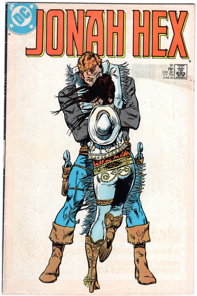 "Jonah Hex #91 ""Sweatheart Of The Rodeo!"" HTF Later Issue VG"