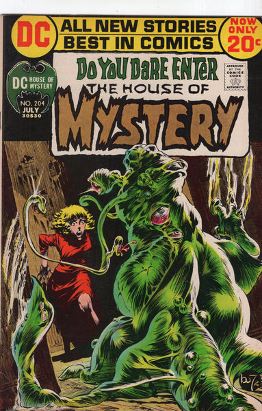 House Of Mystery #204 Wrightson Art Classic Bronze Age Horror FN