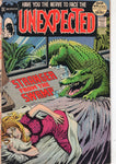 "Unexpected #136 ""An Incident Of Violence"" Bronze Age Horror Giant VG+"