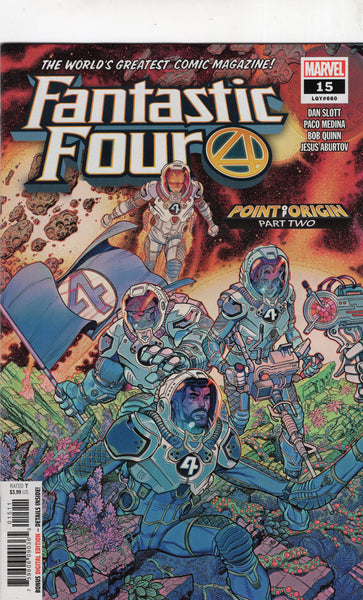 Fantastic Four #15 Point Of Origin! NM