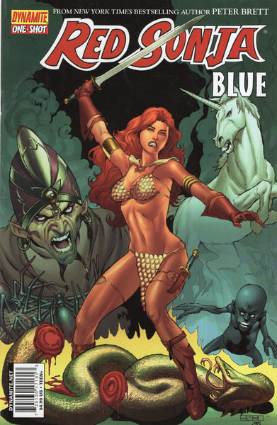 Red Sonja Blue One Shot Dynamite FN