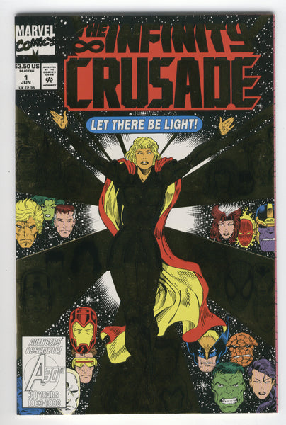 Infinity Crusade #1 Let There Be Light VFNM