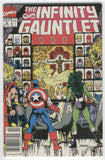 Infinity Gauntlet #2 From Bad To Worse HTF News Stand Variant VGFN