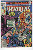 Invaders #27 Bronze Age Classic FN