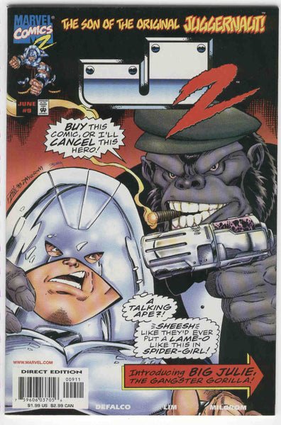 J2 #9 The Gangster Gorilla Marvel 1999 VF