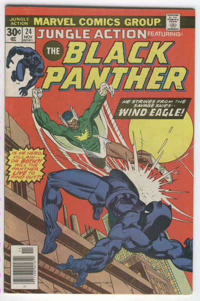 Jungle Action #24 Wind Eagle Strikes From The Skies HTF Later Issue VGFN