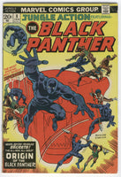 Jungle Action #8 Origin Of The Black Panther Bronze Age Key VG