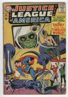 Justice League Of America #33 Enemy From The Timeless World Silver Age Classic VG